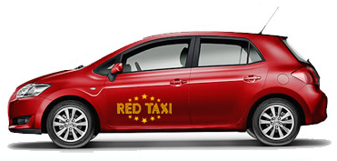 red-taxi